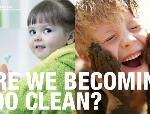"Is Growing Up ""Too Clean"" A Health Risk For Children?"
