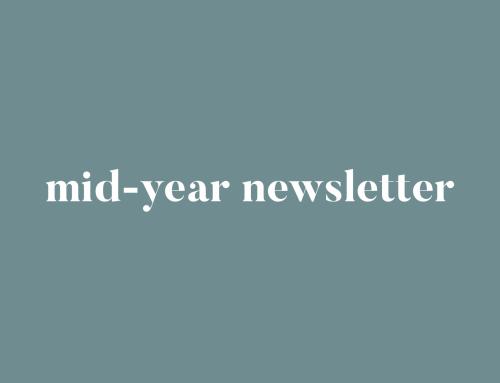 Mid-Year Newsletter